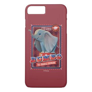 "Dumbo   ""The Miracle Elephant"" Circus Art iPhone 8 Plus/7 Plus Case"
