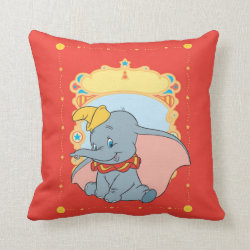 Cotton Throw Pillow with Kawaii Cinderella design