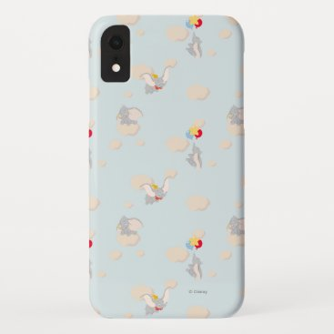 Dumbo up in the Clouds Pattern iPhone XR Case