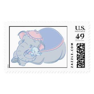 Dumbo y jumbo sello postal