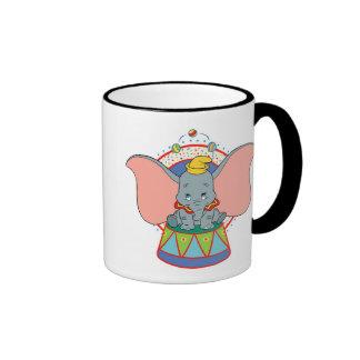 Dumbo's Dumbo Performing in Circus Ringer Coffee Mug