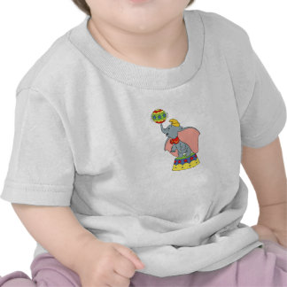 Dumbo's Jumbo Jr. Spinning a Ball Tshirts