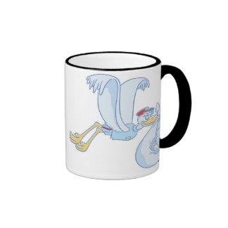 Dumbo's Stork Delivery Ringer Coffee Mug