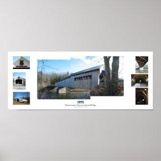 Dummerston Covered Bridge, Vermont Poster