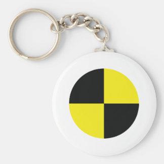 dummy measure point engineer basic round button keychain