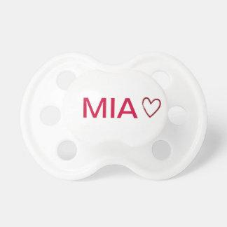 "Dummy ""MIA"" with heart"