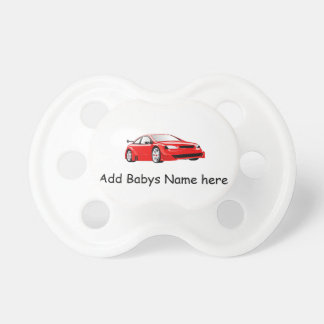 Dummy personalisierbar with red car