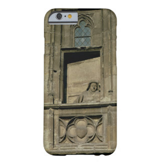 Dummy window in the entrance facade with a figure barely there iPhone 6 case