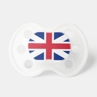 Dummy with flag of Great Britain Pacifier