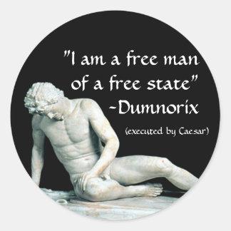 Dumnorix Classic Round Sticker