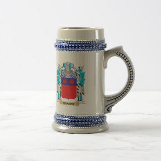 Dumont Coat of Arms - Family Crest 18 Oz Beer Stein