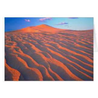 Dumont Dunes, Sand Dunes and Clouds Card