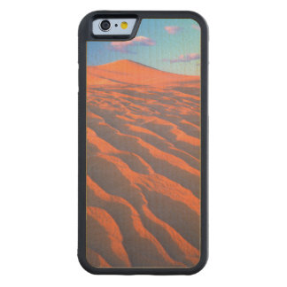 Dumont Dunes, Sand Dunes and Clouds Carved Maple iPhone 6 Bumper Case