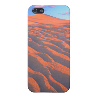 Dumont Dunes, Sand Dunes and Clouds Cover For iPhone SE/5/5s