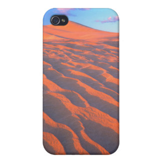 Dumont Dunes, Sand Dunes and Clouds iPhone 4 Case