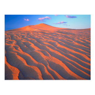 Dumont Dunes, Sand Dunes and Clouds Postcard