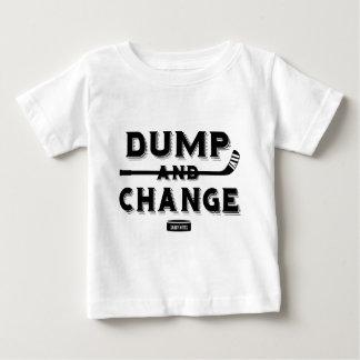 Dump and Change Hockey Baby T-shirt