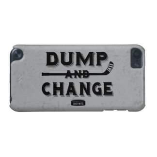 Dump and Change Hockey iPod Touch 5G Covers