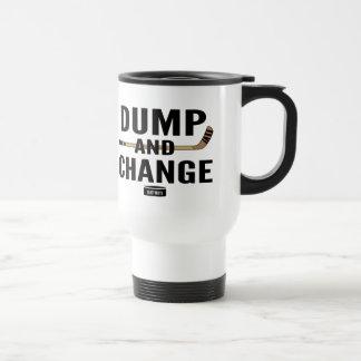 Dump and Change Hockey Travel Mug