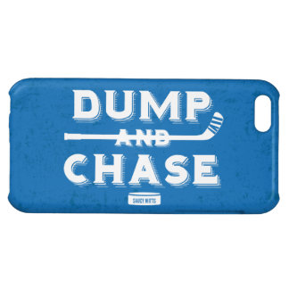 Dump and Chase Hockey iPhone 5C Covers