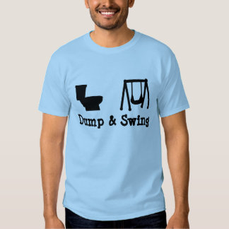 Dump and Swing - Ultimate Frisbee T Shirts