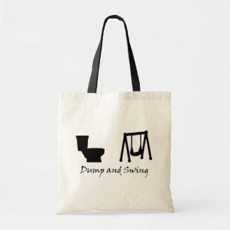 Dump and Swing - Ultimate Frisbee Tote Bag