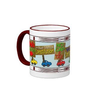 Dump DEMS etc. Ringer Mug