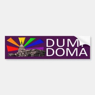 Dump Doma Bumper Sticker