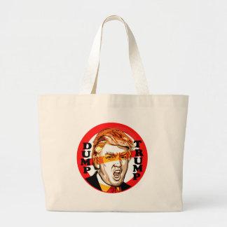 Dump Donald Trump 2016 Large Tote Bag