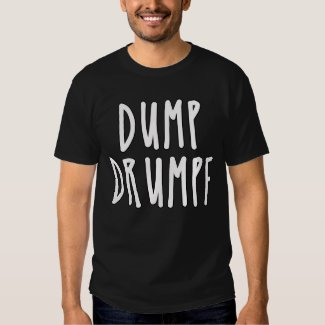 DUMP DRUMPF Funny Donald Trump Parody Tshirt