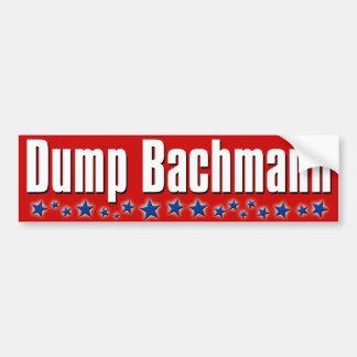 Dump Michele Bachmann Bumper Stickers
