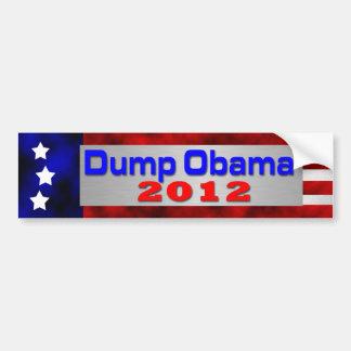 Dump Obama Car Bumper Sticker