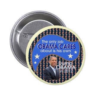 Dump Obama in 2012 Pinback Button
