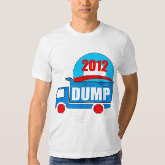 dump obama in 2012 shirt