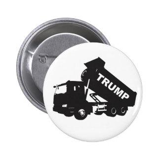 Dump the Trump - Dump Truck 2 Inch Round Button