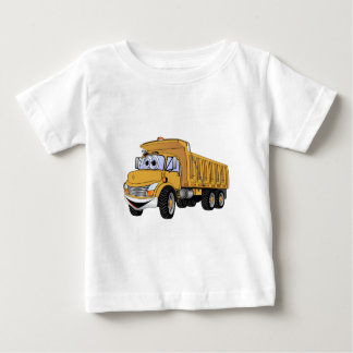 Dump Truck 3 Axle Gold Cartoon Baby T-Shirt