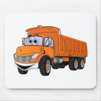 Dump Truck 3Ax Orange Cartoon.png Mouse Pads
