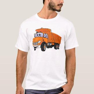 Dump Truck 3Ax Orange Cartoon.png T-Shirt