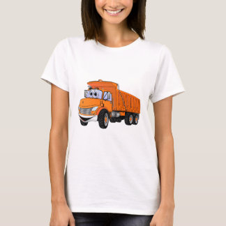 Dump Truck 3Ax Orange Cartoon.png T-Shirt