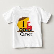 Dump Truck Birthday T-Shirt