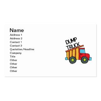 Dump Truck Business Card