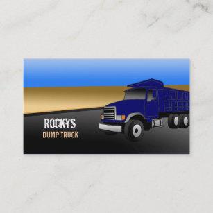 Trucking business cards templates zazzle dump truck business cards colourmoves