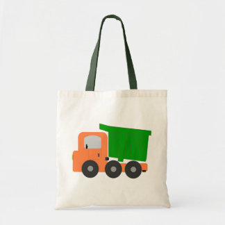 Dump Truck Childs Tote Bags