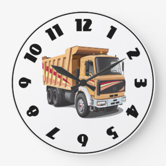 Dump Truck Clock