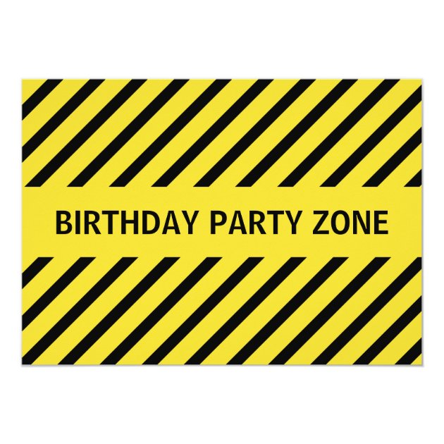 Construction Birthday Party Invitations for awesome invitation design