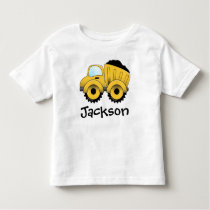Dump Truck Construction Toddler T-Shirt