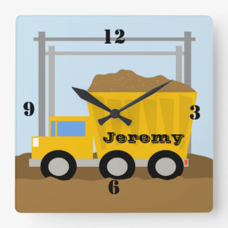 Dump Truck Custom Clock