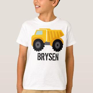 Dump Truck Customized T-Shirt