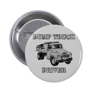 Dump Truck Drivers Button