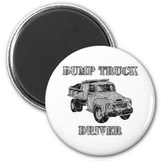Dump Truck Drivers Magnet